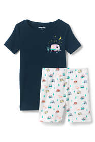 Toddler Girls Snug Fit Short Pajama Set