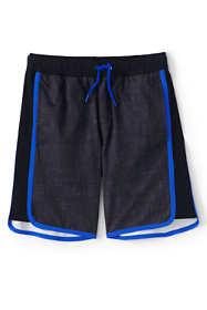 Boys Husky Pattern Active Stretch Swim Trunk