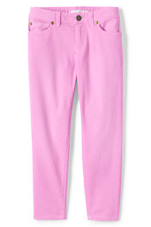 Girls' Pastel Skinny Ankle Jeans