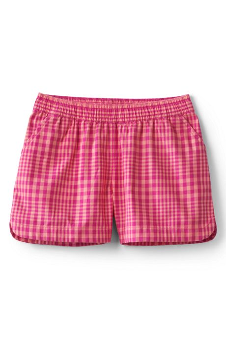 Toddler Girls Pattern Woven Pull On Shorts