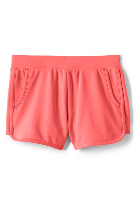 Little Girls French Terry Pull On Shorts
