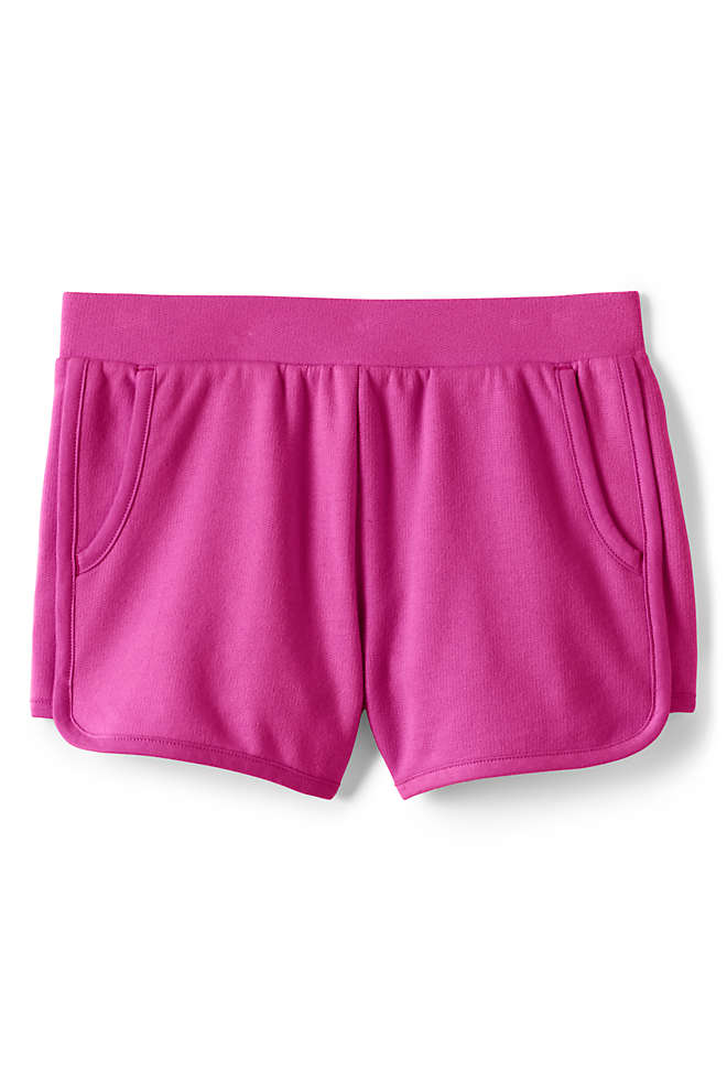 Girls Plus French Terry Pull On Shorts, Front