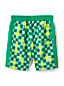 Little Boys' Print Blocked Swim Shorts
