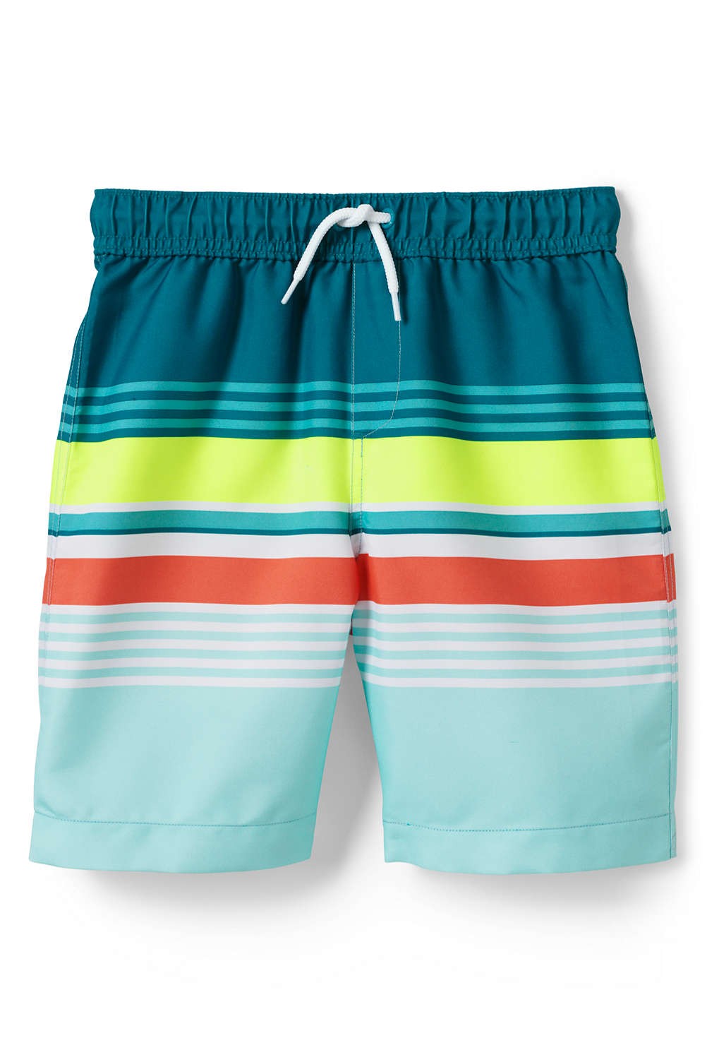 610c46433ed4c Boys Print Swim Trunk from Lands' End