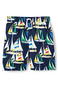 Boys Print Swim Trunks