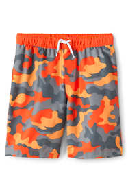 Toddler Boys Print Swim Trunks