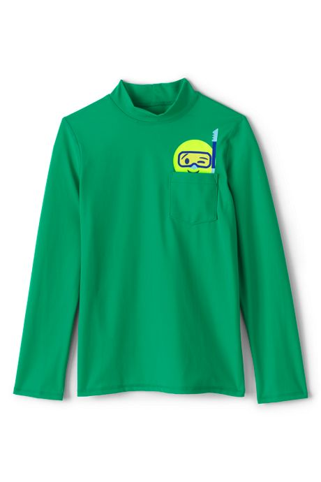 Toddler Boys Graphic Rash Guard