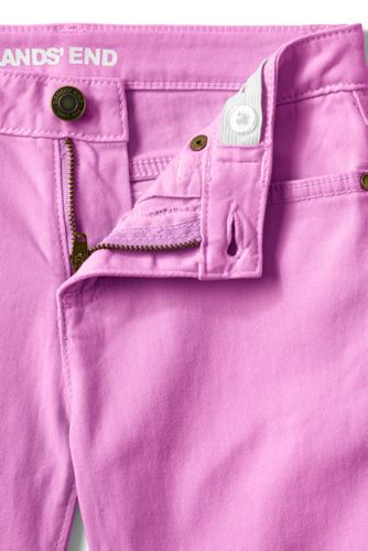 Girls Denim Bermuda Shorts