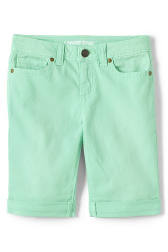Bermuda Stretch en Jean, Fille