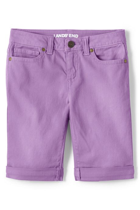 Girls Plus Denim Bermuda Shorts