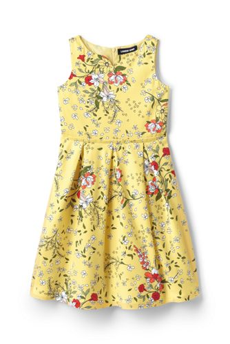 Girls' Sateen Party Dress