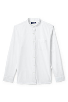 Men's Sail Rigger Stretch Oxford Grandad Shirt, Tailored Fit