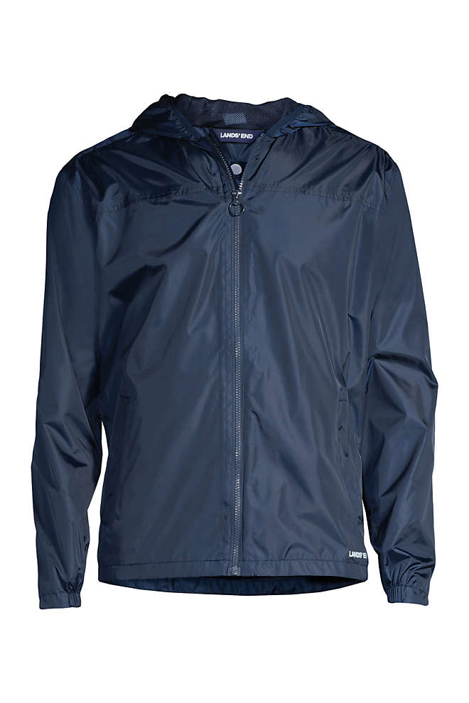 Men's Waterproof Windbreaker Jacket, Front