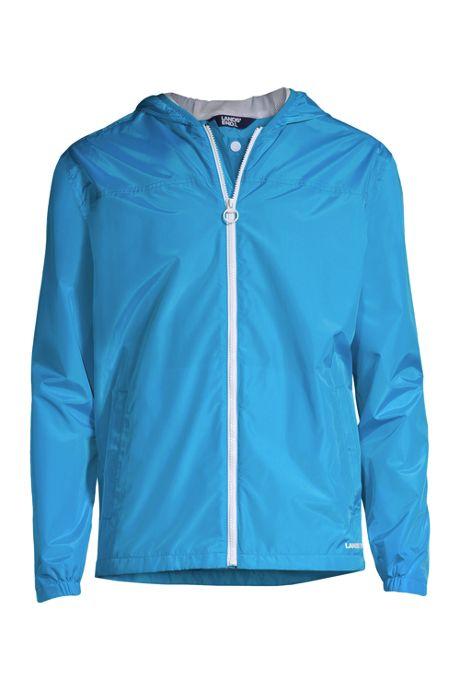 Men's Waterproof Packable Windbreaker Jacket