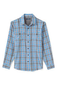 Men's Traditional Fit Double Cloth Work Shirt