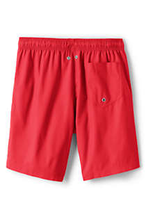 "Men's 8"" Solid Volley Swim Trunks, Back"