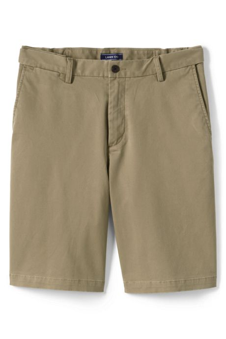 Men's Big and Tall 11 Inch Comfort Waist Stretch Knockabout Chino Shorts