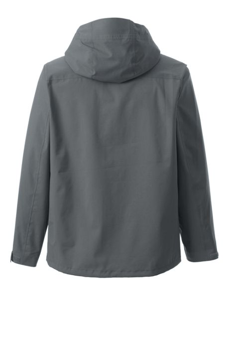 Men's Tall Waterproof Rain Jacket