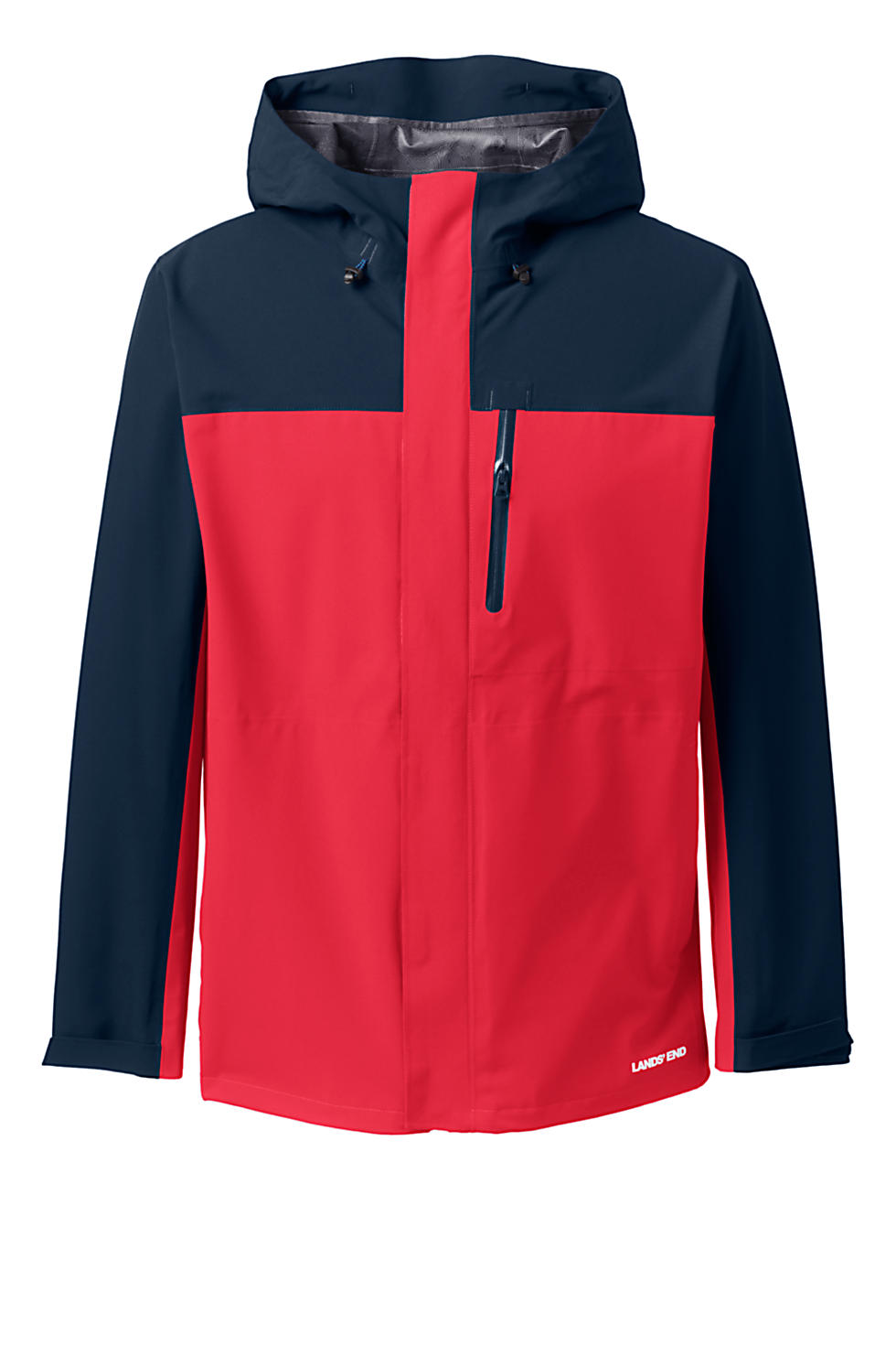 Lands End Mens Waterproof Rain Jacket (various colors/sizes)