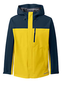 Men's Waterproof Rain Jacket, Front