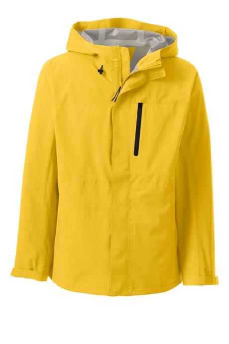 Men's Tall Waterproof Rain Jacket