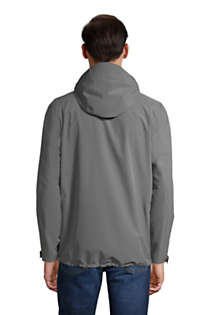 Men's Tall Waterproof Rain Jacket, Back