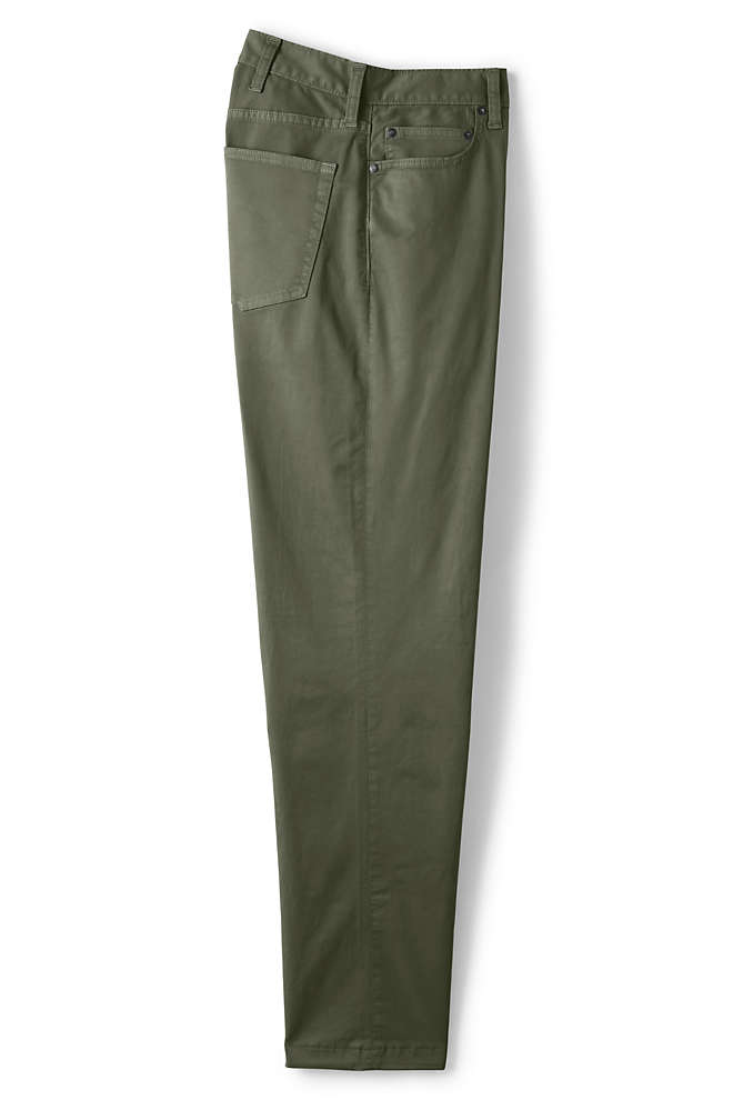 Men's Traditional Fit 5 Pocket Comfort First Knockabout Chino Pants, Front