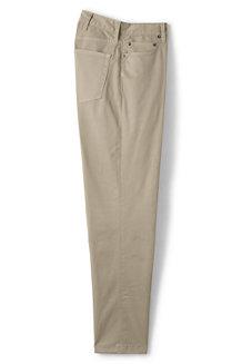Pantalon Chino Stretch en Twill Uni, Homme