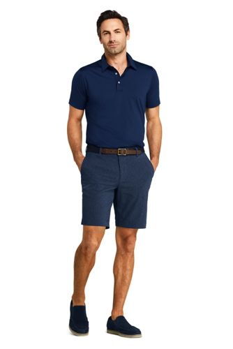 Men's 9 Inch Classic Fit Performance Golf Shorts