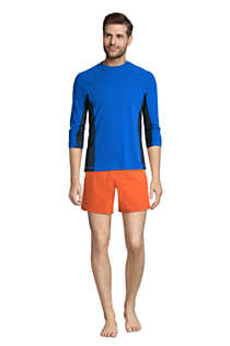 Men's Long Sleeve Swim Tee Rash Guard, alternative image
