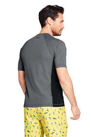 Men's Tall Short Sleeve Swim Tee Rash Guard