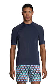 Men's Short Sleeve Swim Tee Rash Guard