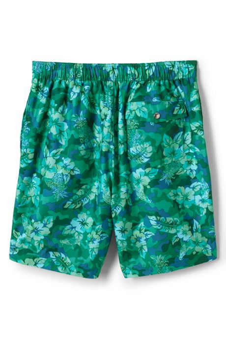 Men's Print Board Short Swim Trunks