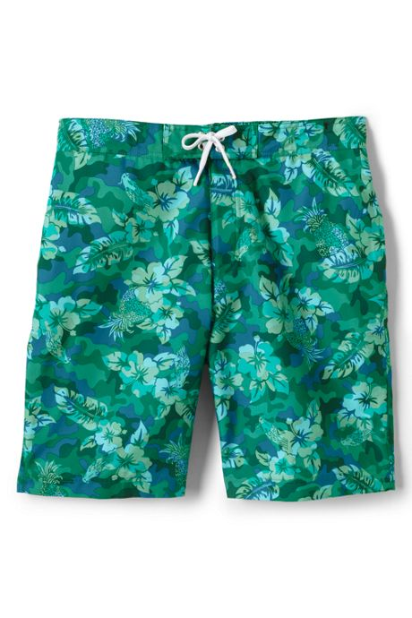 Men's Print Board Short Swim Trunks