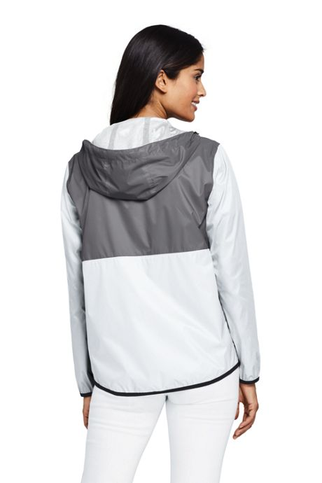 Women's Packable Windbreaker Jacket