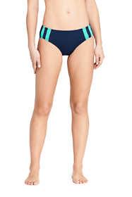 Women's Chlorine Resistant Mid Waist Bikini Bottoms