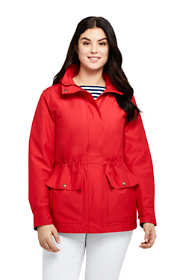 Women's Plus Size Lightweight Cotton Jacket