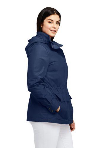 Women's Plus Size Lightweight Cotton Jacket