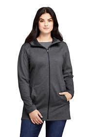 Women's Plus Size Water Resistant Fleece Coat