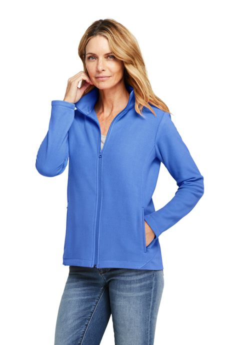 Women's Petite Lightweight Fleece Jacket