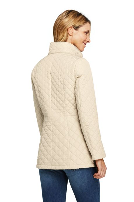 Women's Quilted Insulated Long Jacket