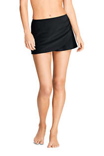 Women's Wrap Mini Swim Skirt Swim Bottoms, Front