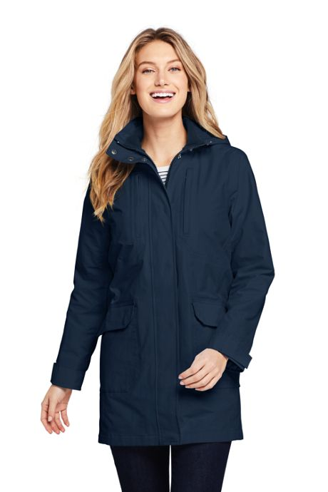 Women's Petite Lightweight Squall Raincoat