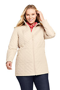 dc5295764fe Women s Plus Size Quilted Barn Insulated Long Jacket