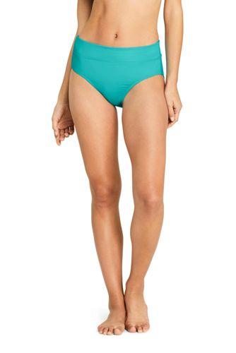 Women's Beach Living Chlorine Resistant High-waist Bikini Bottoms