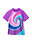 Toddler Girls' Short Sleeve Graphic Rash Vest