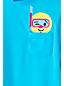 Girls' Long Sleeve Smiley Pocket Rash Vest