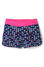 Girls Comfort Waist Print Swim Shorts
