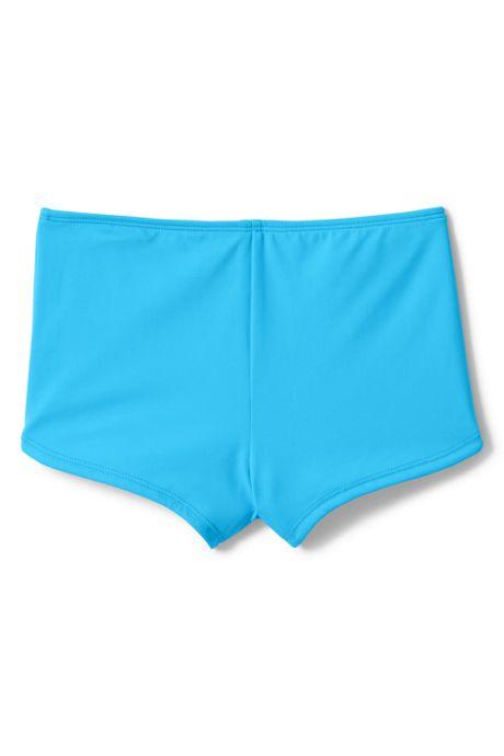 Little Girls Boy Short Swim Bottoms