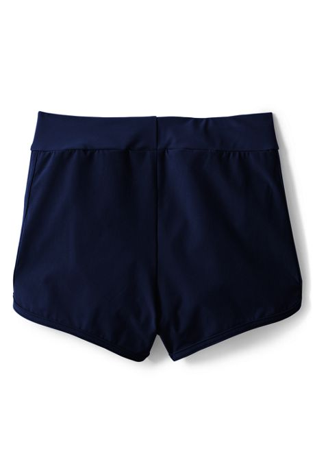 Girls Plus Comfort Waist Stretch Swim Shorts
